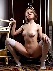 This Delicious Babe Has Some Incredible Fun In Her Mansion, Where She Freely Embraces All Of Her Fla