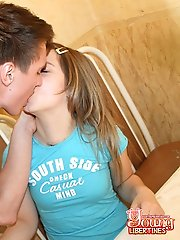 Sex with cute teen hottie