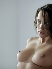 Busty Brunette Teal Conrad Cant Keep Her Warm Eager Lips Or Her Creamy Tight Pussy Off Her Mans Long