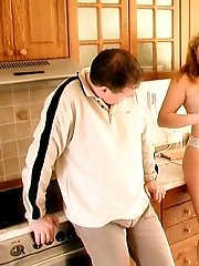 Milf tricks the paperboy into fucking her to pay for newspaper.