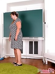 The teacher is showing her students the importance of school but they want more.